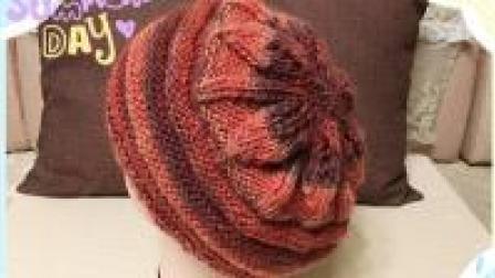 帽子不用买, 自己就能织一顶漂亮的荷叶帽(二)
