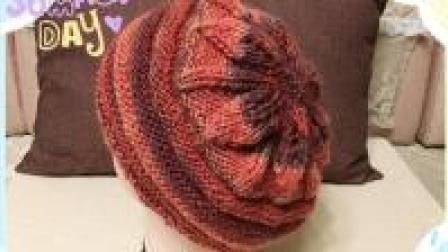 帽子不用买, 自己就能织一顶漂亮的荷叶帽(一)
