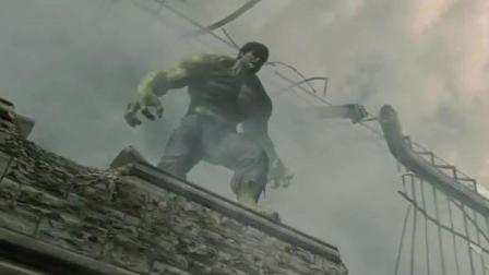 最初版的绿巨人, 最强形态, 机关枪打在身上, 就像石子按摩皮肤