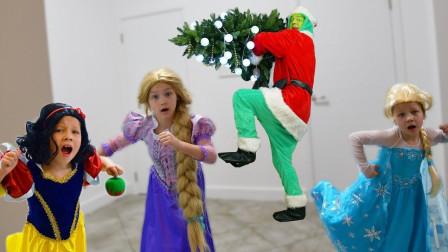 超萌小萝莉的圣诞树变成果树? 姐姐的饼干遭到破坏? 谁干的?