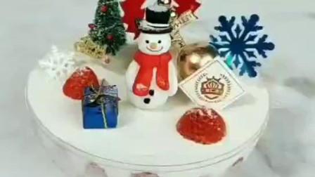 圣诞慕斯蛋糕 杭州杜仁杰专业烘焙面包西点培训学校