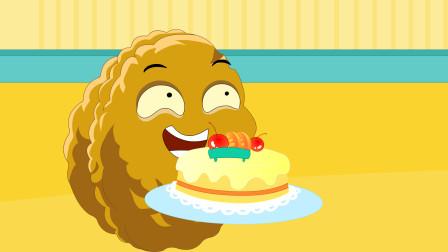 植物大战僵尸同人动画 第一季 生日蛋糕-植物大战僵尸搞笑动画