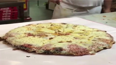风味人间: 看看外国披萨的打包方法, 确实不一样