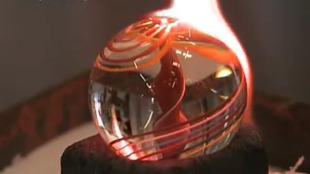 90后的回忆, 实拍童年最爱的玻璃珠制作过程, 看完长知识了!