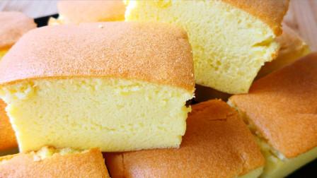 原来蛋糕不塌陷也有窍门, 学会这个做法, 不塌陷不回缩, 想失败都难