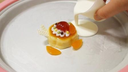 DIY日本食玩制作铁板饼干布丁冰淇淋卷 儿童亲子食玩