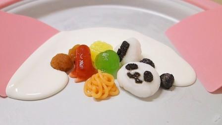 DIY日本食玩自制小熊冰淇淋卷 儿童亲子食玩