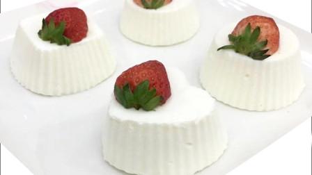 简单易学, 甜点美食, 原来可以这么简单, 这么好学的冰淇淋蛋糕