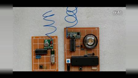 基于51单片机的无线音乐门铃设计 简易音乐门铃设计 DIY电子制作