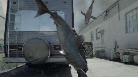 飞天鲨鱼人类,小伙引弹开关,与飞天鲨鱼同归于尽