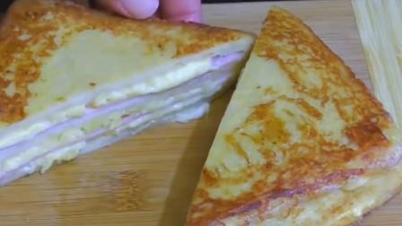 三明治好吃不会做怎么办? 步骤清晰的三明治做法教给你, 好吃易学