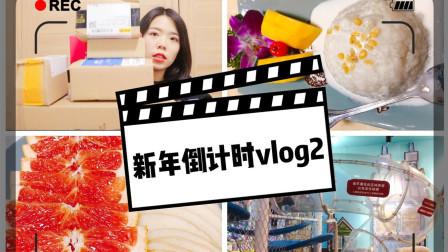 新年倒计时volg2#|全职妈咪超级无聊的一天|双十二开箱|超级难吃的泰国菜