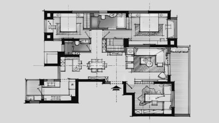 室内设计教程: 如何在平面布局体现设计的人性化和特色化, 是做出好方案的关键!