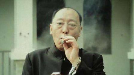 战狼最燃爆的情节, 倪大红被抓还抽雪茄, 脸部表演堪称教科书级别