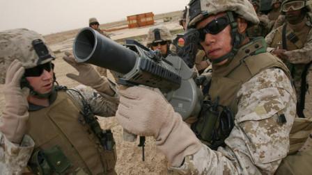 美军大杀器, M32榴弹发射器一秒两发, 加大精度不如加大杀伤半径