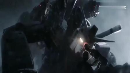 《头号玩家》高达大战机械霸王龙, 可惜高达机甲受时间限制战败