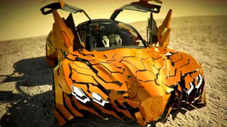 """全球最酷的""""大黄蜂"""", 现实中可以变形, 在沙漠也能行驶!"""