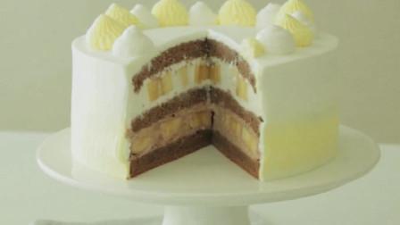 欧美最流行的下午茶甜点, 香蕉奶油蛋糕