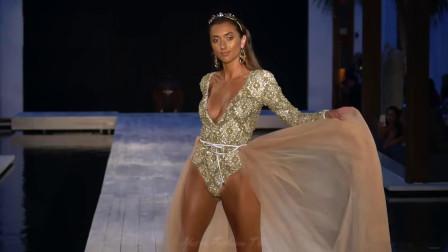 Aqua Blu 比基尼泳装秀2019迈阿密时装周, 每一个都是如此的漂亮, 真是饱了我的眼福!