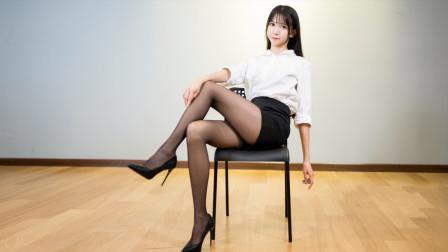 超火韩舞《短裙》翻跳, 估计这是鞋跟最细的一版了