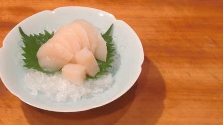 日本美食生鱼片, 如此的美食让人垂帘欲滴, 你敢吃吗