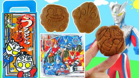 玩具益趣园 2017 奥特曼日式馒头甜点和迷你怪兽手指玩具