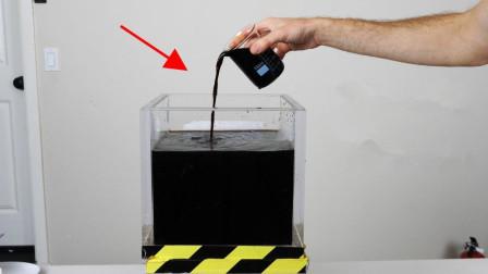 想成天喝网红黑水又没钱买? 老外自制黑水, 口感跟颜色都一个样!