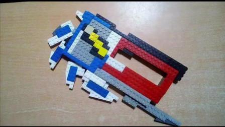 《欧布奥特曼》自制积木玩具! 全套装备展示