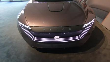 全新拜腾M-Byte智能互联汽车, 打开车门那刻才是惊艳的开始