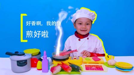 角色扮演厨师,儿童过家家厨房玩具
