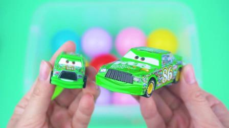学习认识赛车 消防车等汽车玩具 趣味认识汽车
