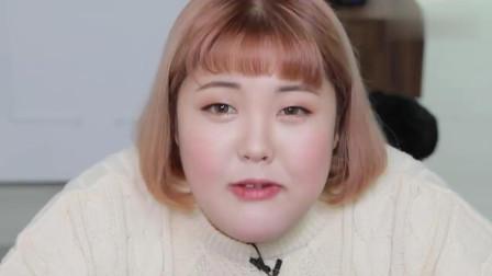 韩国吃货胖妞秀彬, 冬天吃水煮肉片和辣白菜, 美味吗