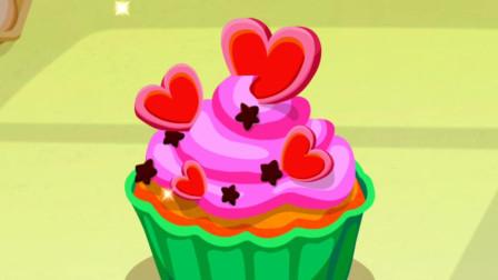 宝宝巴士美食餐厅 奇奇做美味的蛋糕和果汁