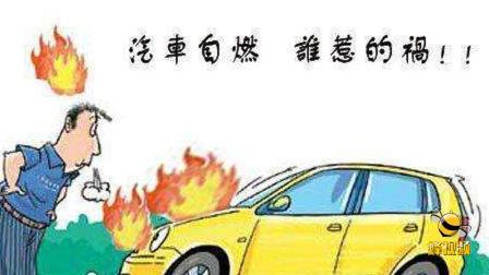 河北秦皇岛 私家车自燃!现场黑烟滚滚火焰冲天