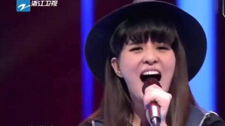 女孩上台献唱《花火》, 独特嗓音引汪峰为其转身, 那英更是疯狂!