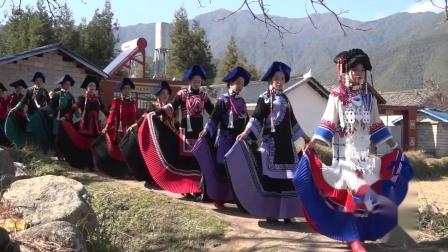 最新彝族结婚彝族美女婚礼录像上集