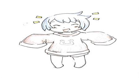 卡通动漫人物简笔画, 淘气的小男孩