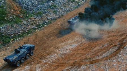特种部队坐装甲车出击, 遭遇袭击装甲车被炸毁, 最新战争片