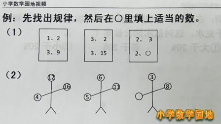 四年级数学奥数课堂 找到各部分数之间的联系 就找到这题的规律了