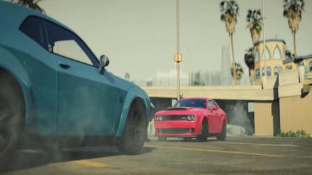 GTA5: 很像福特野马车型的汽车视频