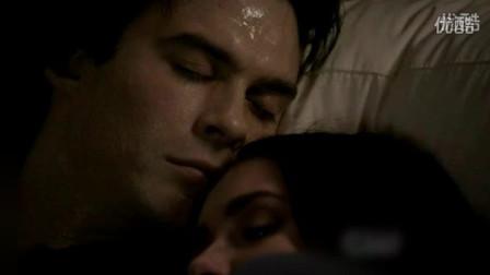 《吸血鬼日记》 Damon与Elena的表白瞬间
