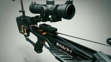 3D场景还原弩箭发射全过程, 原来弩箭是这样工作的