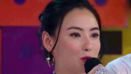 张柏芝五彩皮草惊艳出场, 网友: 妖艳的不像孩子妈
