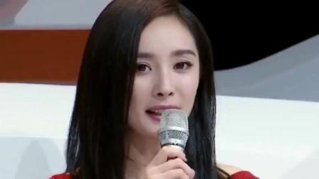 杨幂离婚后做专访, 多次出现表情凝重, 坦然说出自己对婚姻的看法