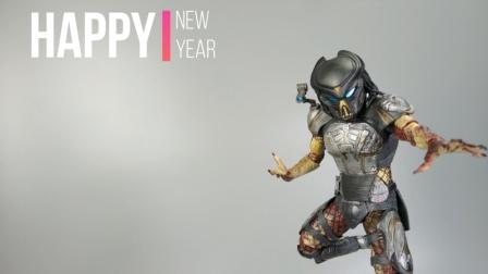 超可动的素体!NECA 铁血战士 2018电影 豪华版