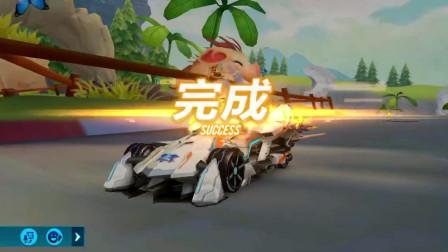 QQ飞车手游: 和小伙伴跑时空穿梭赛, S-破晓者手感果然很膨胀啊