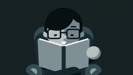 一个男人在伸手不见五指的黑夜里看书, 他是怎么做到的?