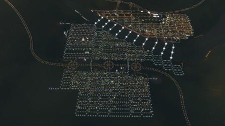 城市天际线: 老市长左迁新小城-十万人家溪两岸, 灯火连霄汉