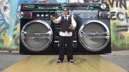 国内超酷炫硬派风格popping震感机械舞, 水平丝毫不逊色国外