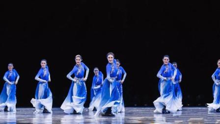 铁木尔编舞的蒙古族风格性组合, 民大尖子班表演, 重复看了8遍